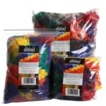 Rainbow dyed 400 gram